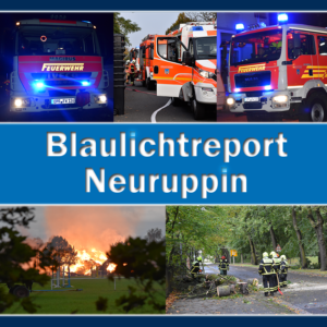 Blaulichtreport Neuruppin